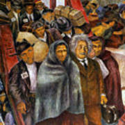 Immigrants, Nyc, 1937-38 Art Print