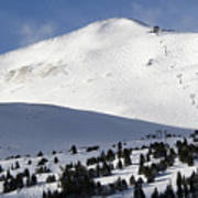 Imperial Bowl On Peak 8 At Breckenridge Colorado Art Print