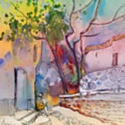 Impression De Trevelez Sierra Nevada 02 Art Print