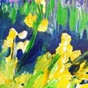 Impression Flowers Art Print