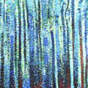 Impression Of Trees Art Print