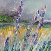 Impressionism Fantasy Field Art Print