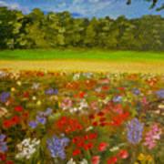 Impressionism Flowers- Pretty Posies Art Print