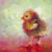 Impressionist Chick Art Print by Talya Johnson