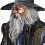 Impressionist Wizard Art Print