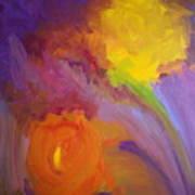 Impressionistic Flowers Art Print