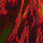 Impressions Of A Burning Forest 10 Art Print