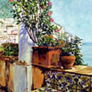 Impressions Of The Riviera Art Print