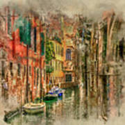 Impressions Of Venice Art Print