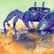 In A Blue Mood Art Print