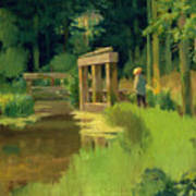 In A Park Art Print by Edouard Manet