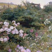 In Full Bloom  Art Print by Henry Arthur Bonnefoy