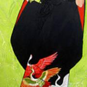 In Her Kimono Art Print