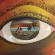 In His Eyes  Art Print