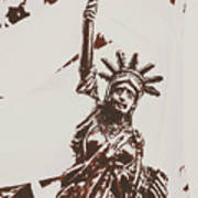 In Liberty Of New York Art Print