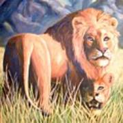 In Lions Time Art Print