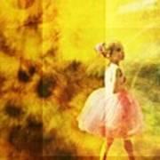In My Pink Tutu Art Print