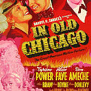 In Old Chicago 1937 Art Print