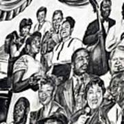 In Praise Of Jazz IIi Art Print