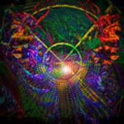 In Search Of Cosmic Pi 3.14 Art Print