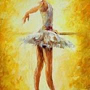In The Ballet Class Art Print