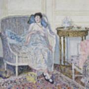 In The Boudoir Art Print