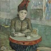 In The Cafe  Agostina Segatori In Le Tambourin Paris January  March 1887 Vincent Van Gogh 1853  Art Print