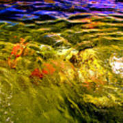 In The Flow 2 Art Print