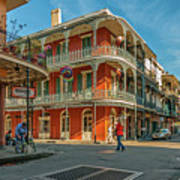 In The French Quarter - 3 Art Print