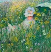 In The Meadow Art Print