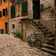 In The Old Town Art Print