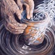 In The Potter's Hands Art Print
