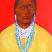 In The Time Of Crazy Horse Art Print