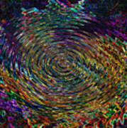 In The Whirl Of Light Art Print