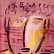 Inca Head Art Print