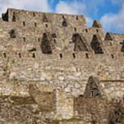 Inca Stone Ruins Art Print