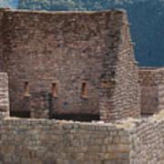 Inca Structure Art Print