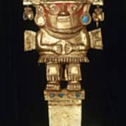 Incan Gold Ornament Art Print