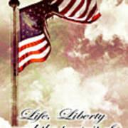 Independence Day Usa Art Print