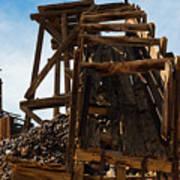Independence Gold Mine Ruins Art Print