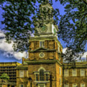 Independence Hall-philadelphia Art Print