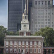 Independence Hall Art Print