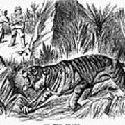 India: Famine, 1896 Art Print