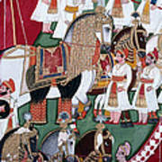 India: Military Festival Art Print