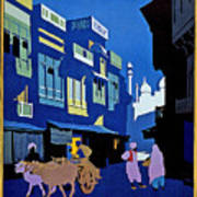 India Travel Poster Art Print