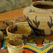 Indian Baskets 1 Art Print