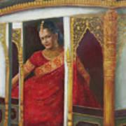 Indian Bride Art Print