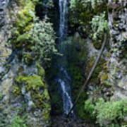 Indian Canyon Waterfall Art Print