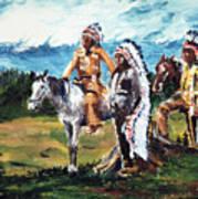 Indian Chiefs Art Print