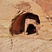 Indian Dwelling Canyon De Chelly Art Print